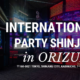 International Party Shinjuku at ORIZURU bar in Kabukicho